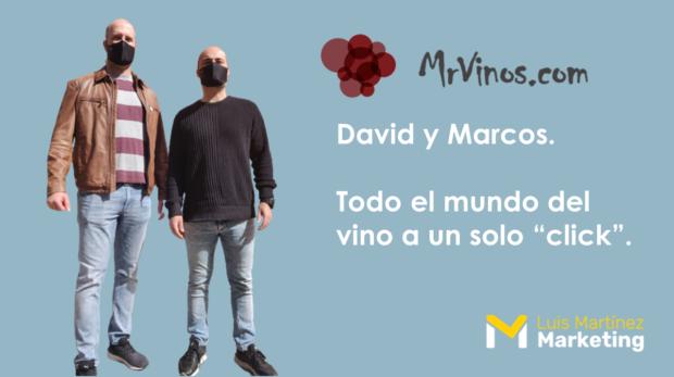 Entrevista a David y Marcos, fundadores del portal vitivinícola MrVinos.com